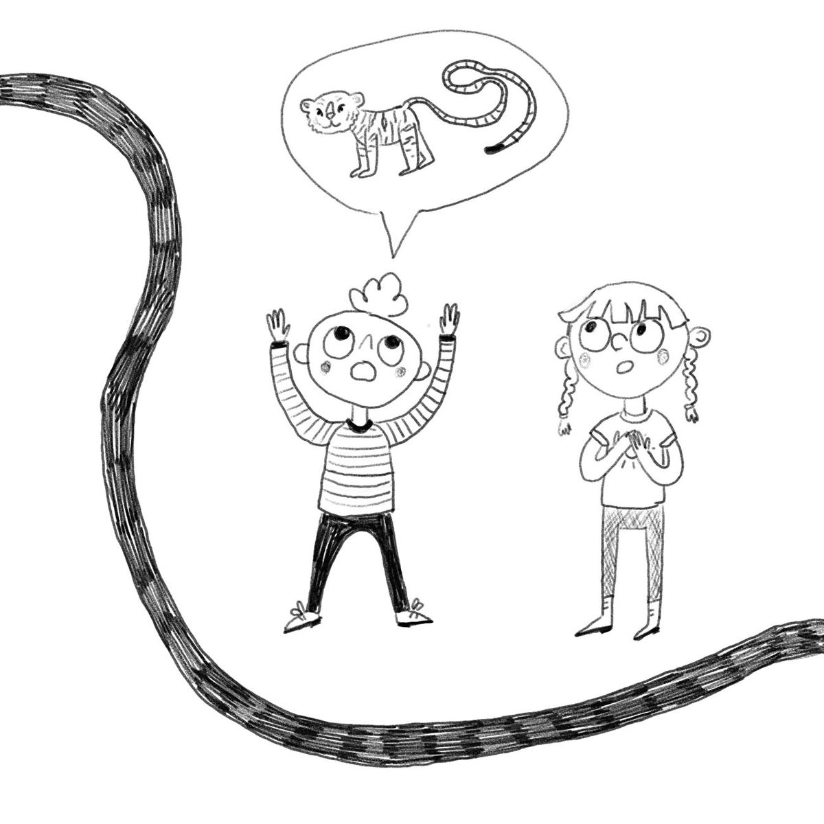 the snake tail4